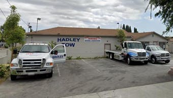 Industrial tow yard in Fullerton, CA