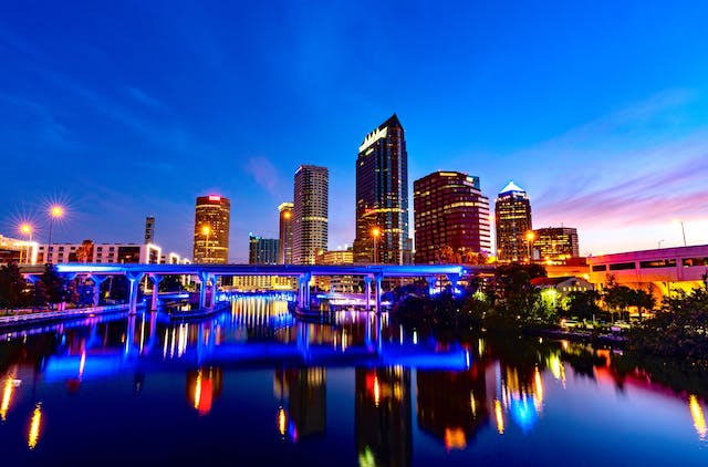 Tampa City, Florida