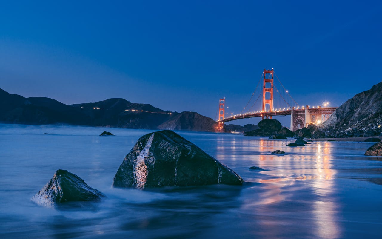 Golden Gate Bridge - SF