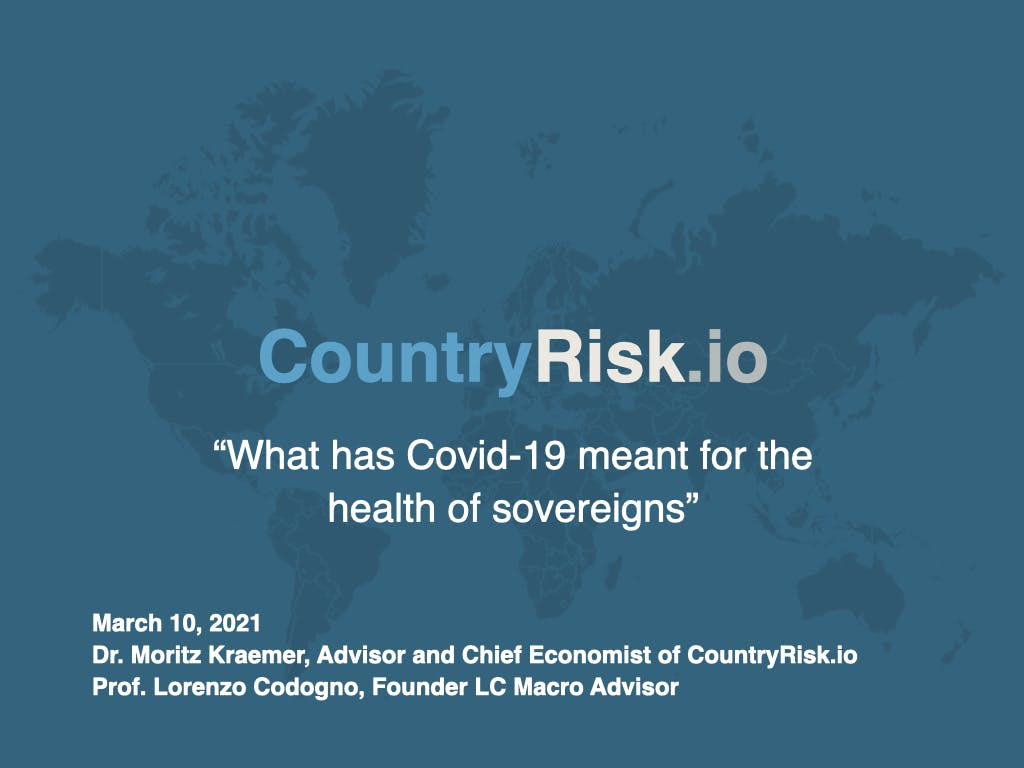 Webinar: What has Covid-19 meant for the health of sovereigns?