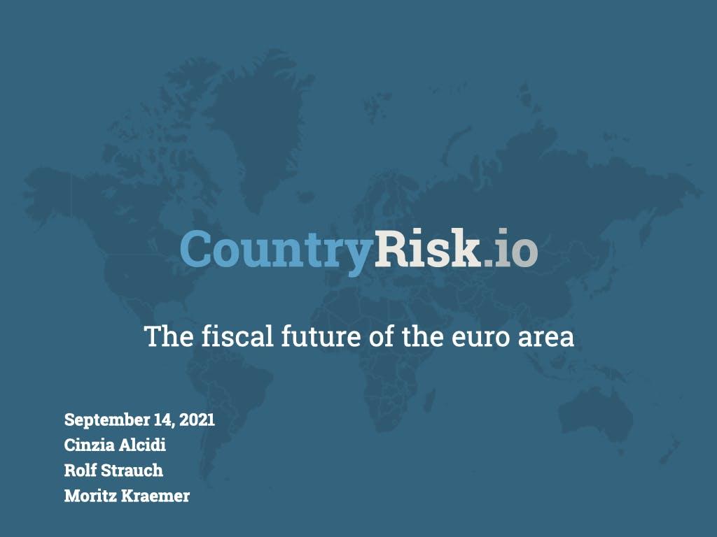 Webinar: The fiscal future of the euro area