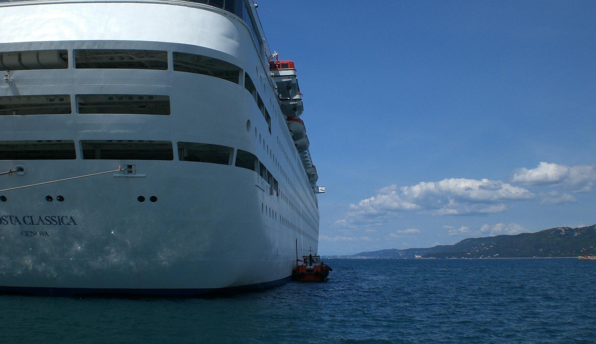 Cruiseskip i Trieste © 151390, Pixabay