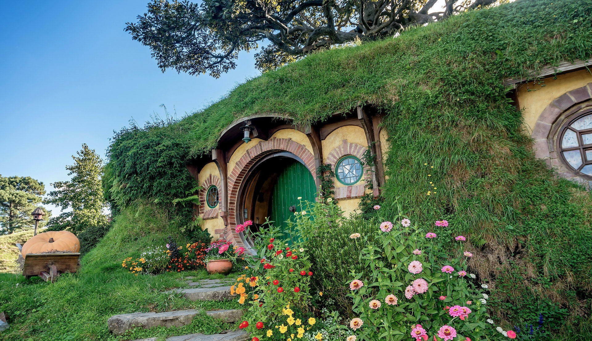 Filmsettet til Hobbiten og Ringenes Herre på New Zealand © DVrcan, Getty Images