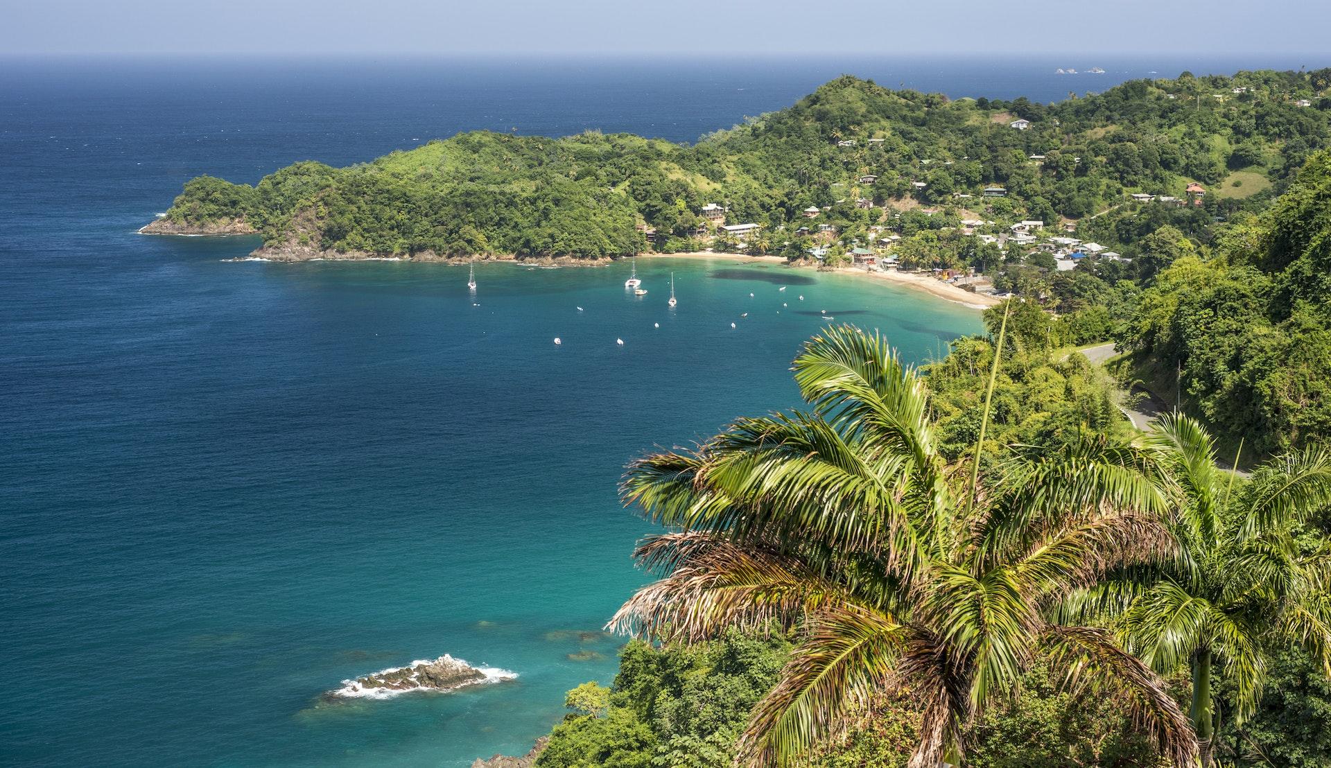 Castara Bay, Tobago © pabst_ell, Getty Images