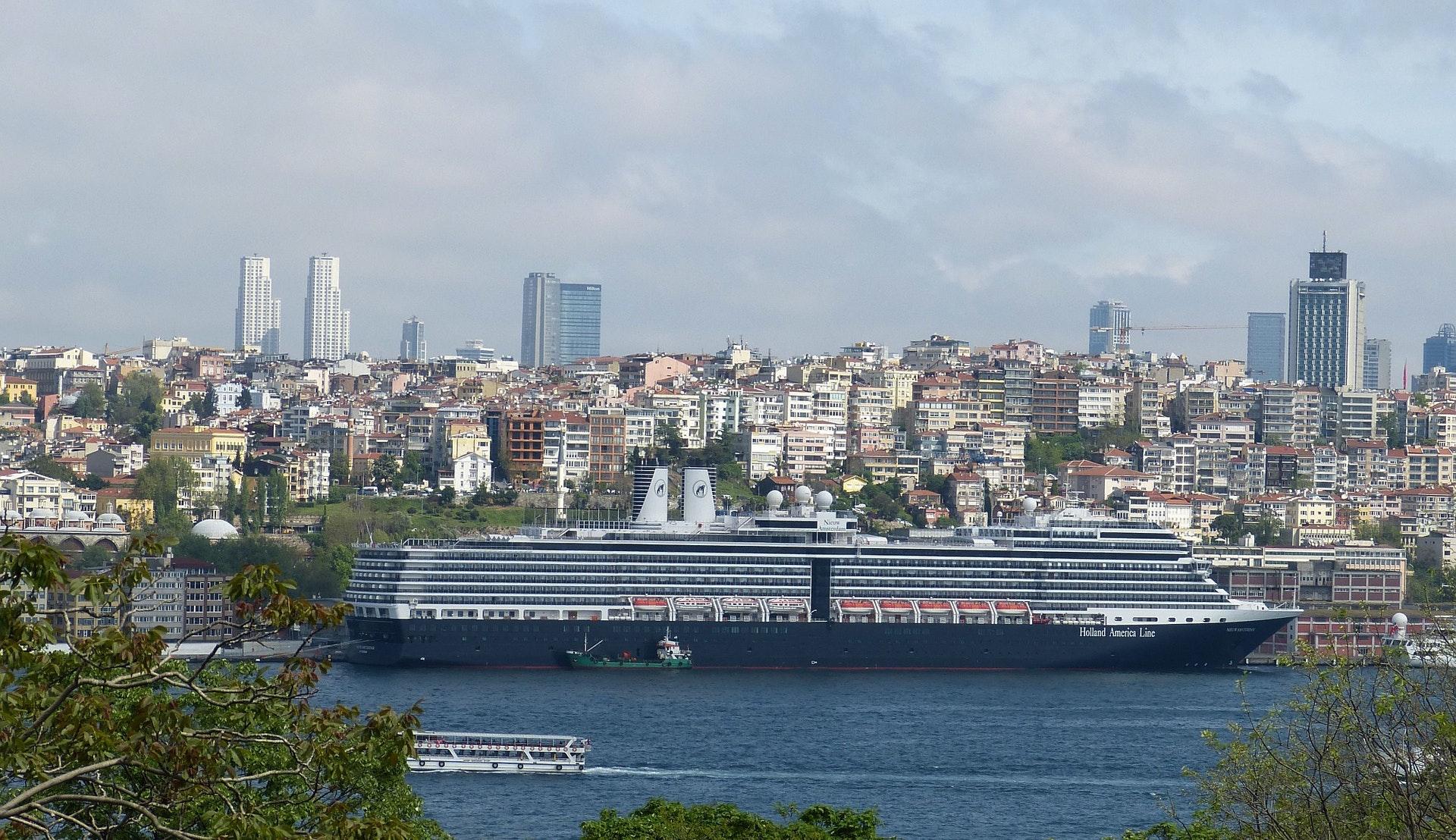 Cruisehavnen i Istanbul © falco, Pixabay