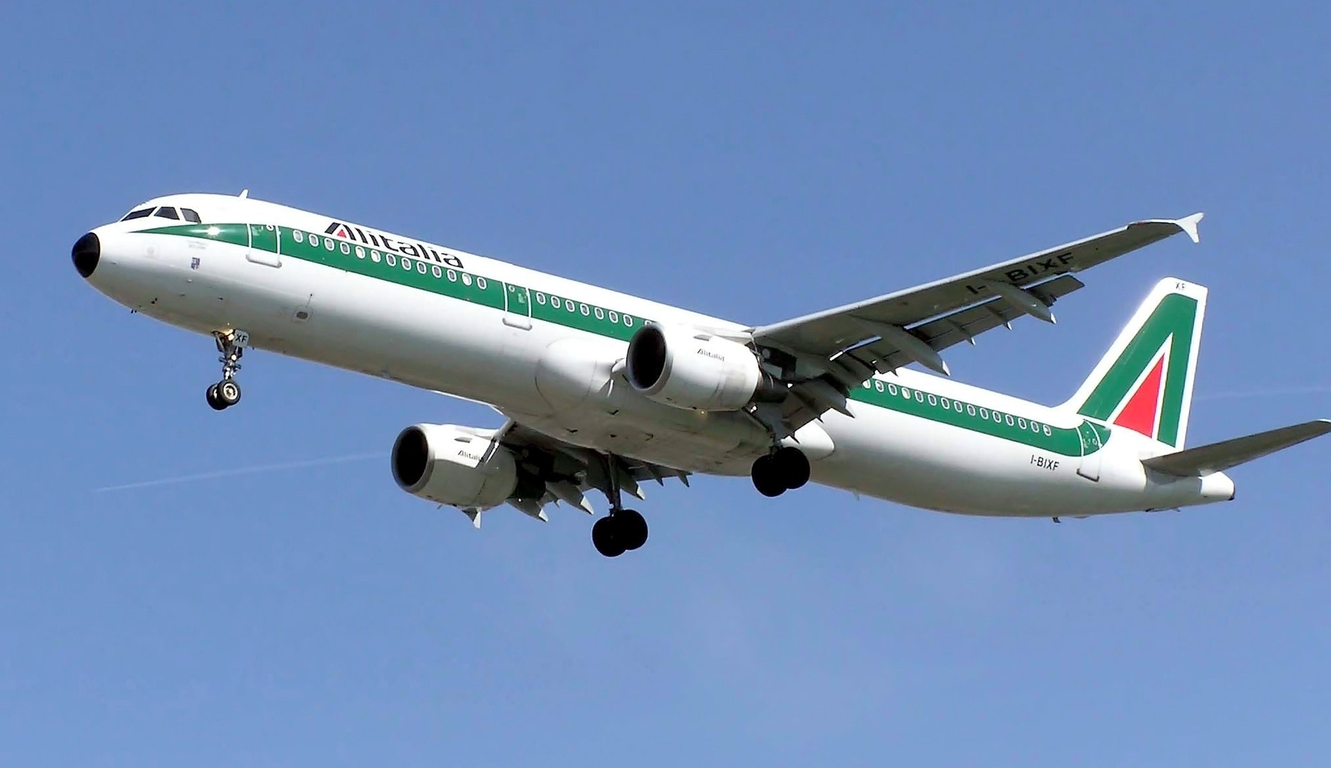 Alitalia A321 © skeeze, Pixabay