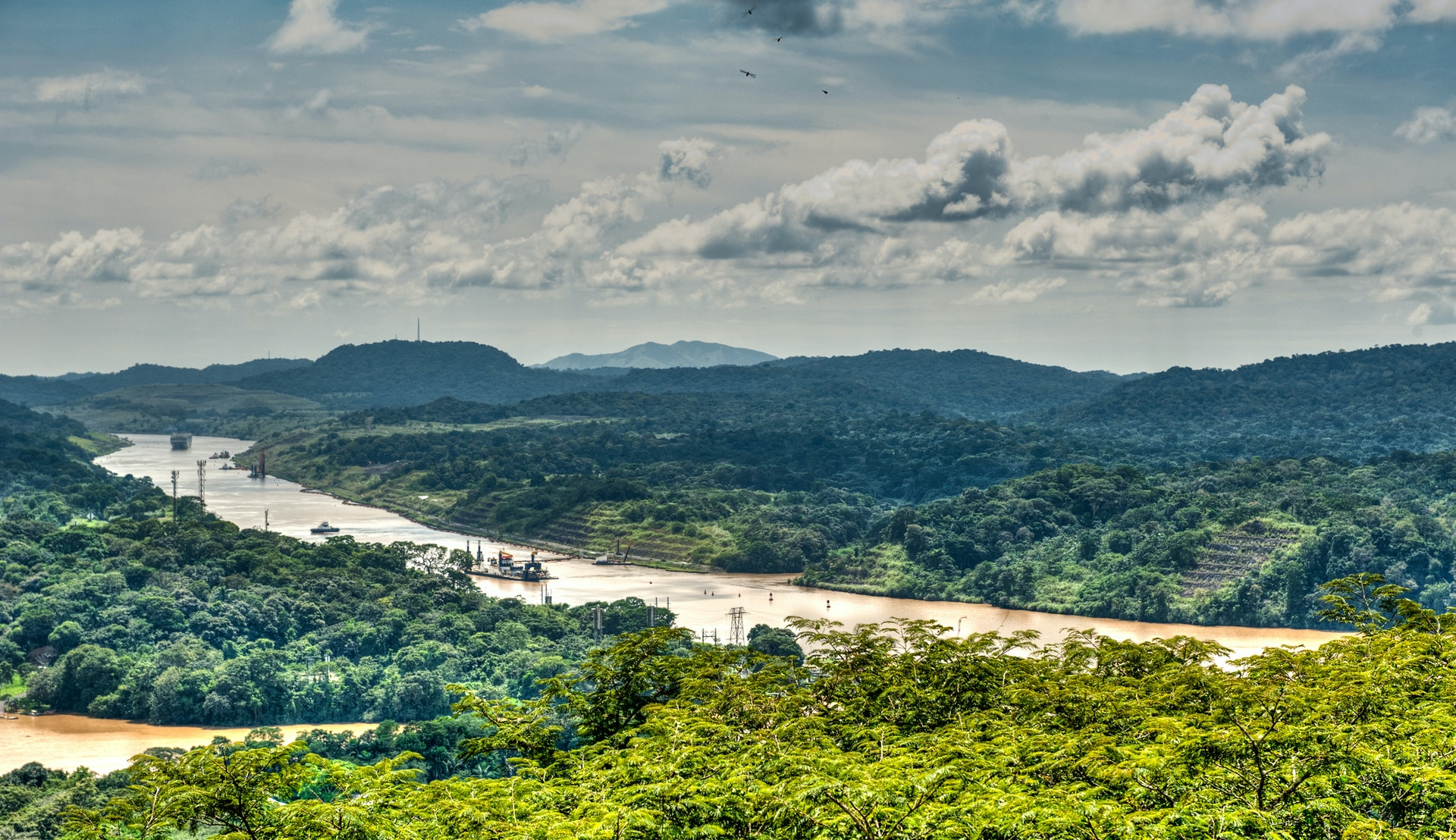 Panamakanalen © Dr. Jürgen Tenckhoff, Getty Images
