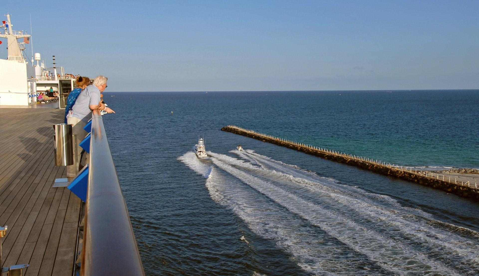 Om bord på skipet i Fort Lauderdale havn © ajbarr, Pixabay