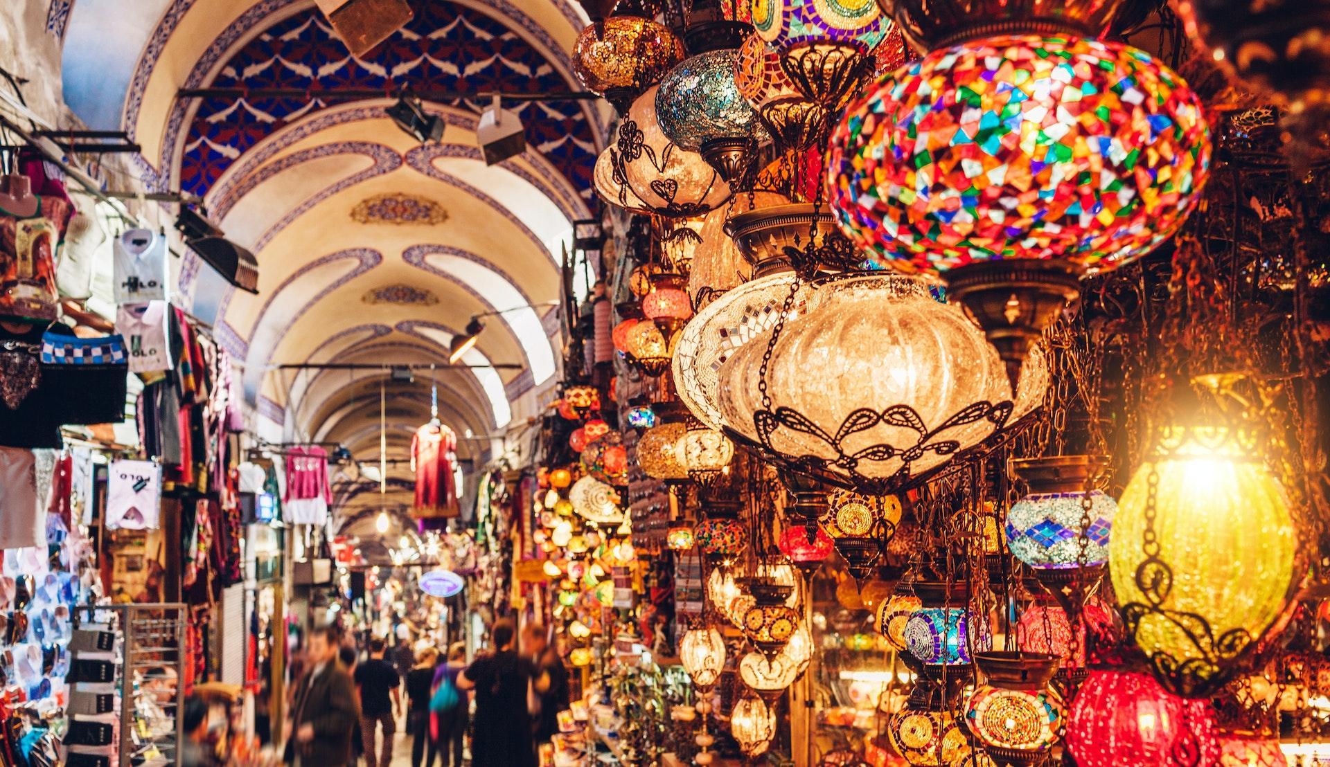Basar i Midtøsten © Nikada, Getty Images