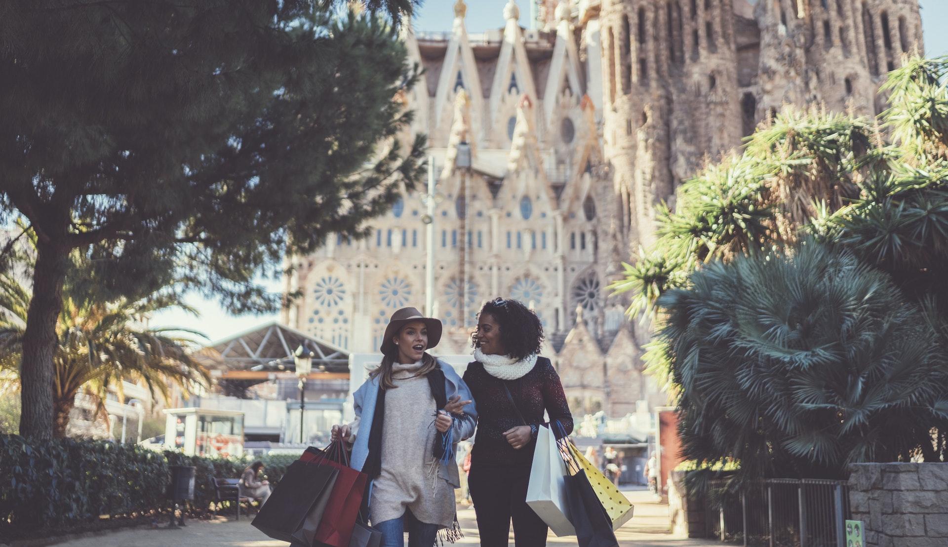 Shopping i Barcelona, Spania, Middelhavet @ martin-dm
