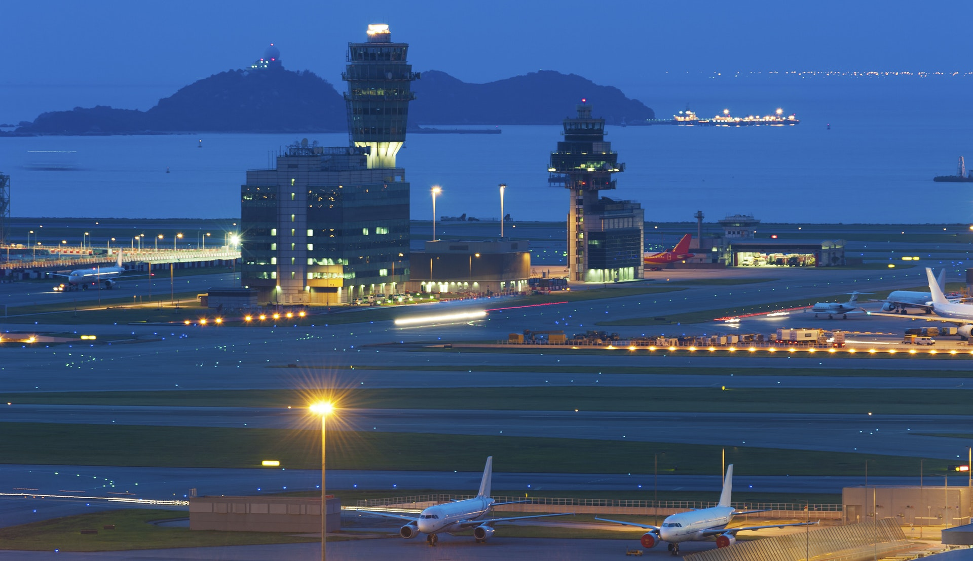 Hong Kong internasjonale lufthavn © Lee Yiu Tung, Getty Images