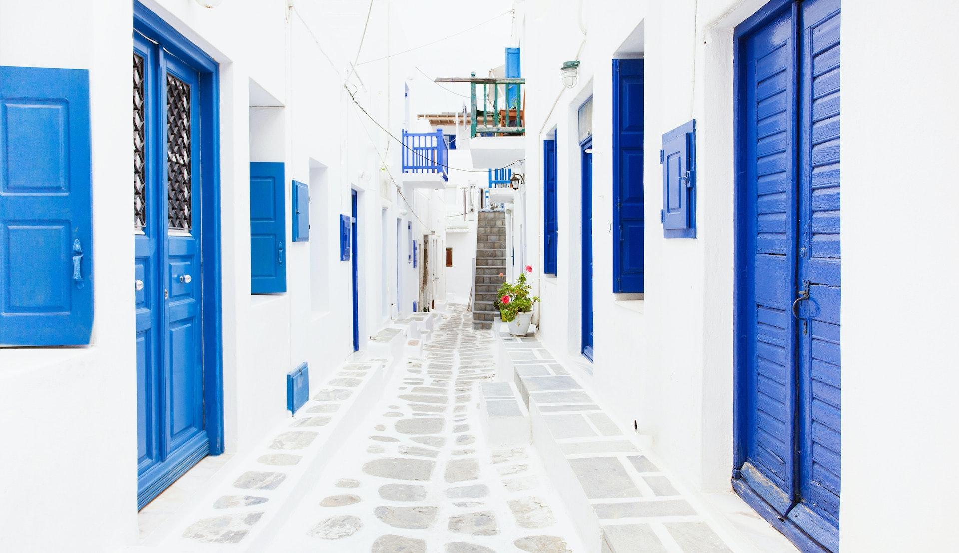 Mykonos, Hellas, Middelhavet @Poike, Getty Images