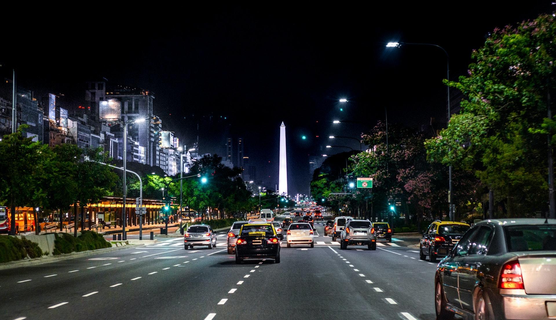 Avenida 9 de Julio, Buenos Aires © Igor Alecsander, Getty Images