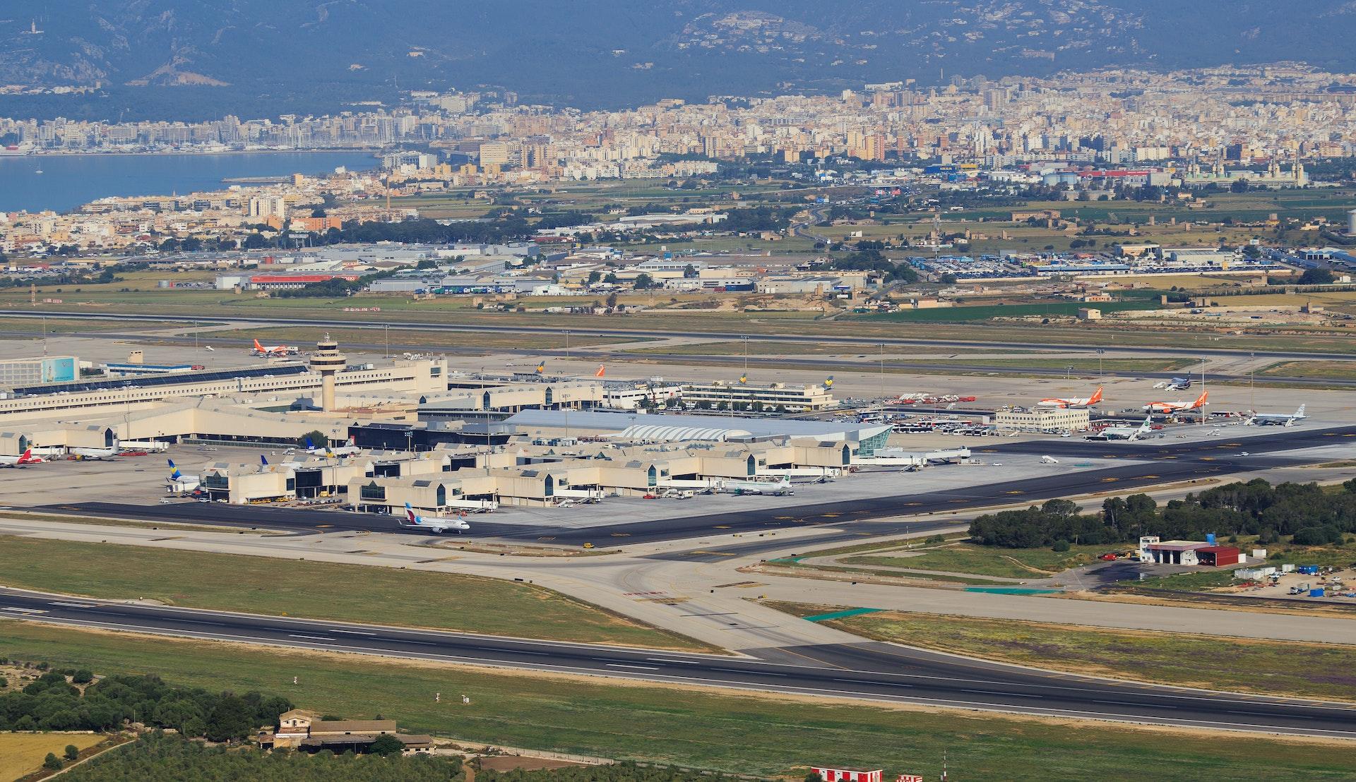 Flyplassen i Palma de Mallorca © Mike Fuchslocher, Getty Images