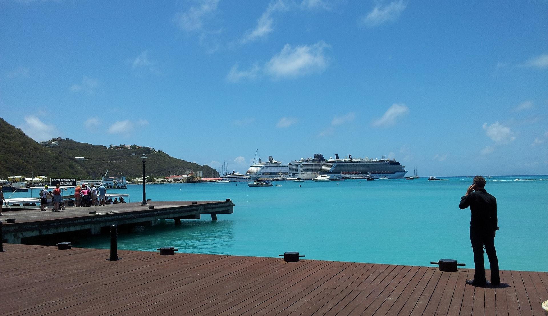 Havnen på St. Maarten © Anton Greulach, Pixabay