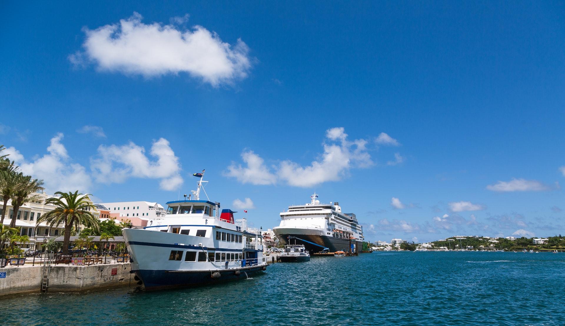 Cruisehavnen i Hamilton © dbvirago, Getty Images