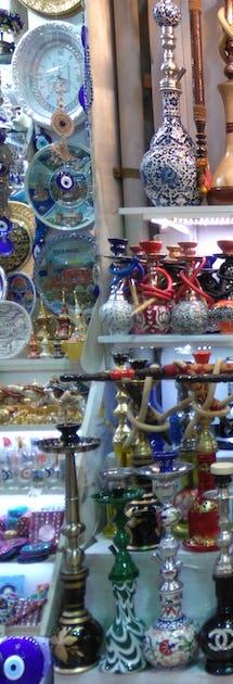 Shopping på Istanbuls store bazaar © emahmuzlu, Pixabay
