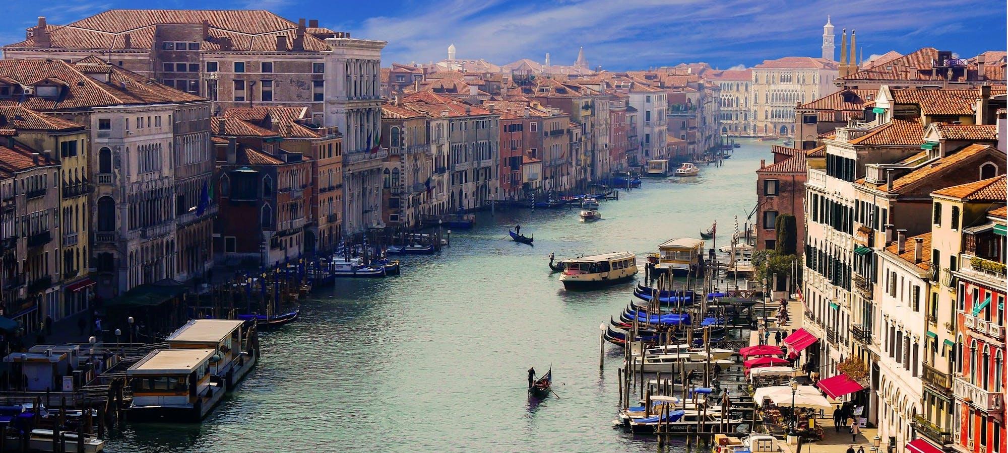 Canal Grande i Venezia © Gerhard Gellinger, Pixabay