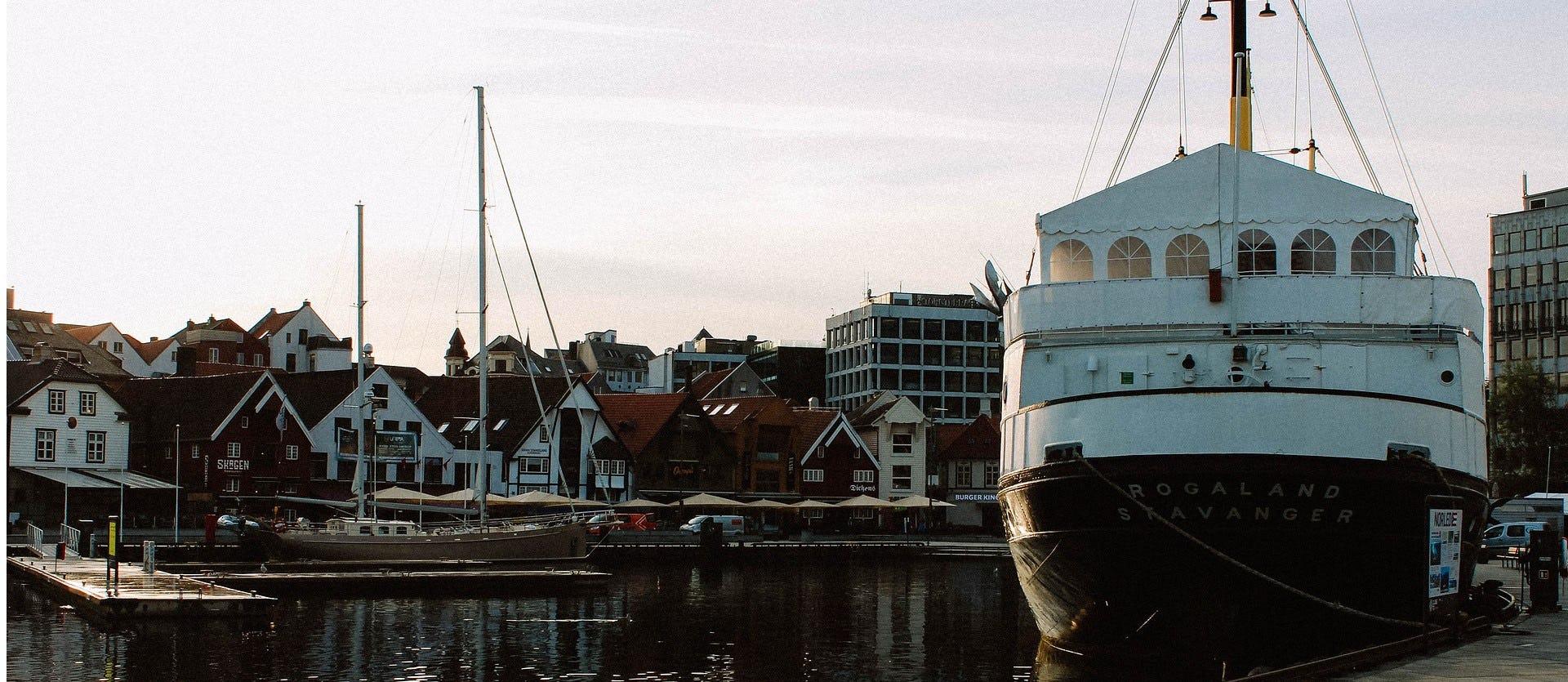 Kveldsstemning i Stavanger