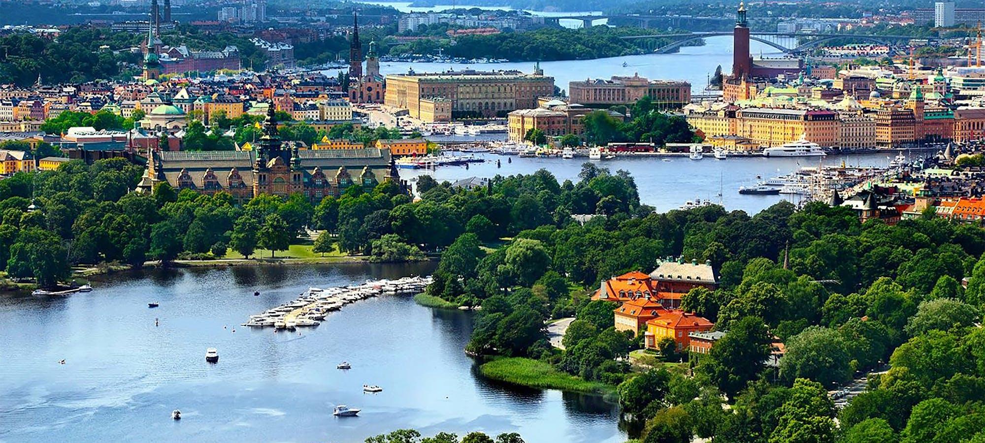Stockholm oversiktsbilde