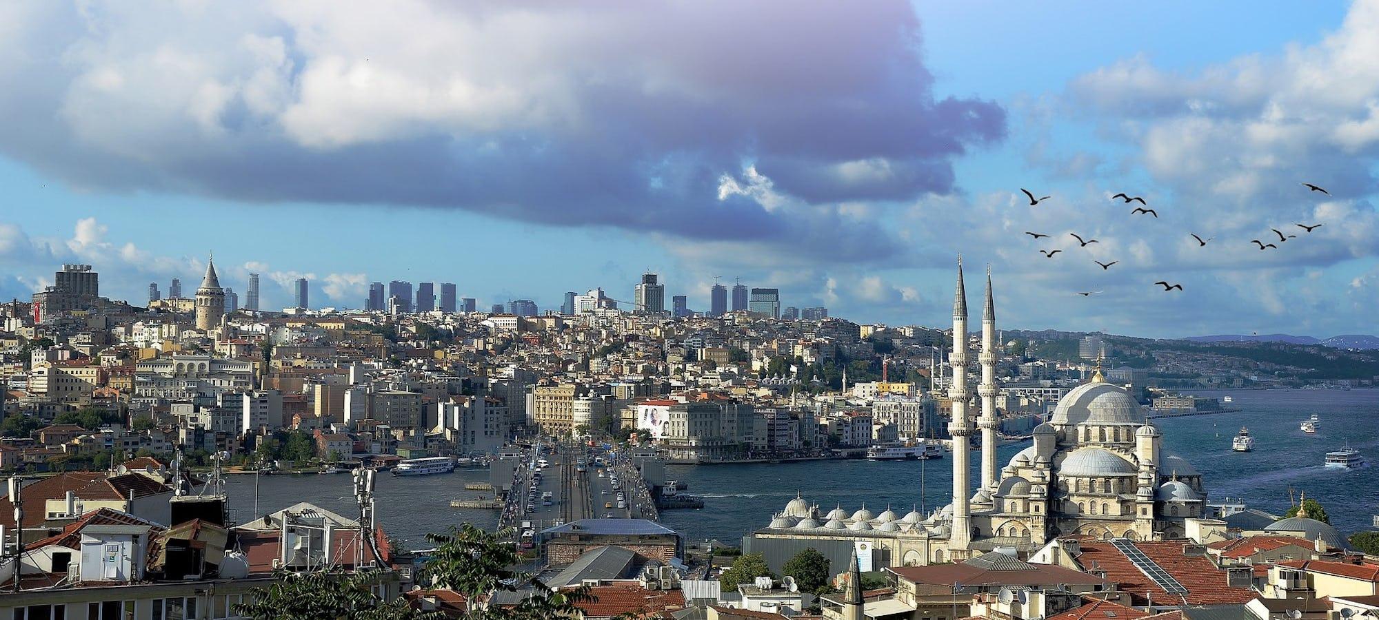 Istanbul med severdigheter © xxoktayxx, Pixbay