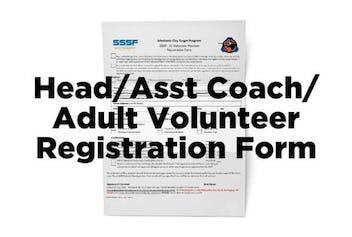 SCTP Head / Asst Coach / Adult Volunteer Registration Form