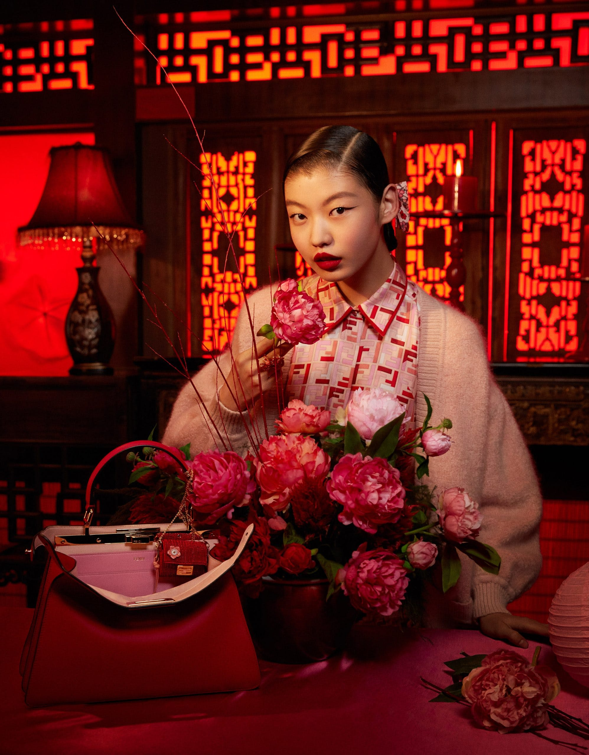 FENDI LUNAR NEW YEAR CAPSULE COLLECTION CAMPAIGN