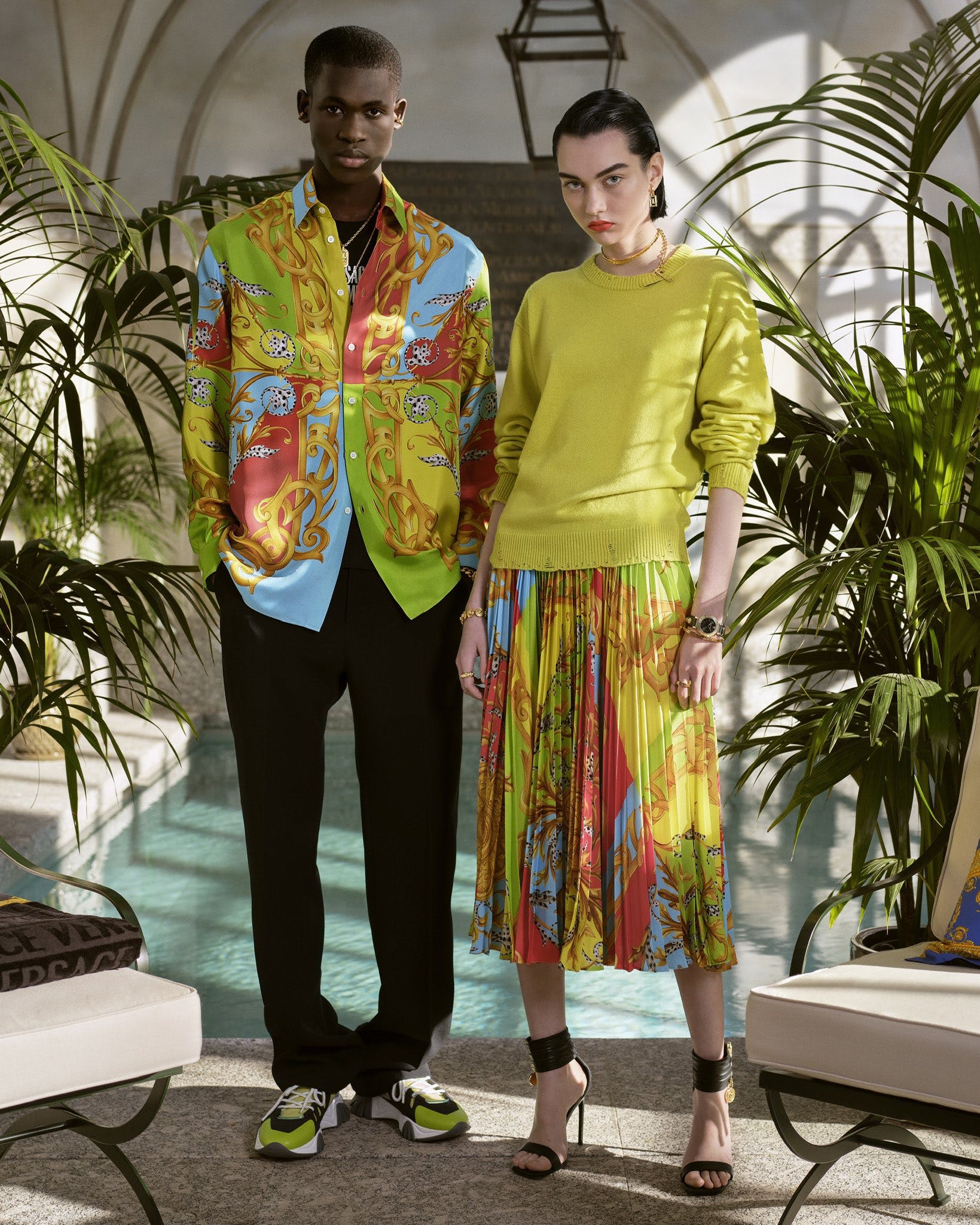 VERSACE SUMMER 2020 CAPSULE COLLECTION