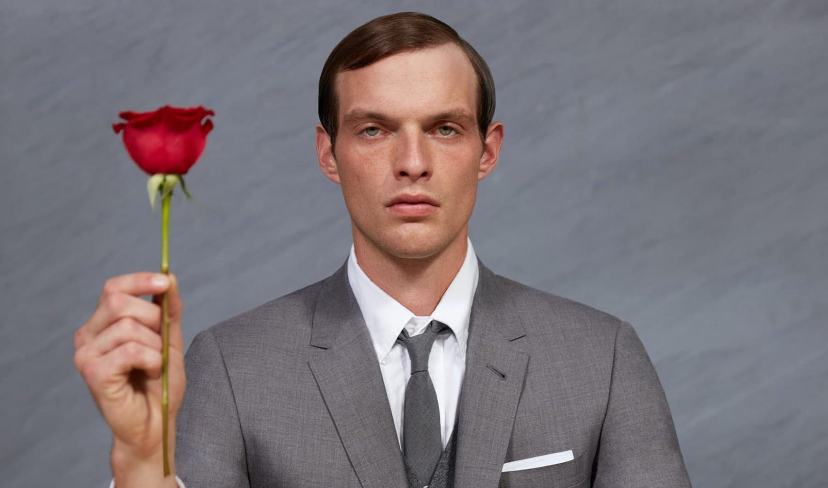 THOM BROWNE FRAGRANCES VALENTINE'S DAY 2021 AD CAMPAIGN
