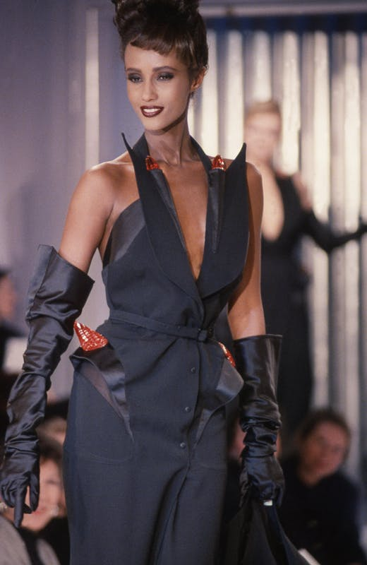 Thierry Mugler's iconic collections.