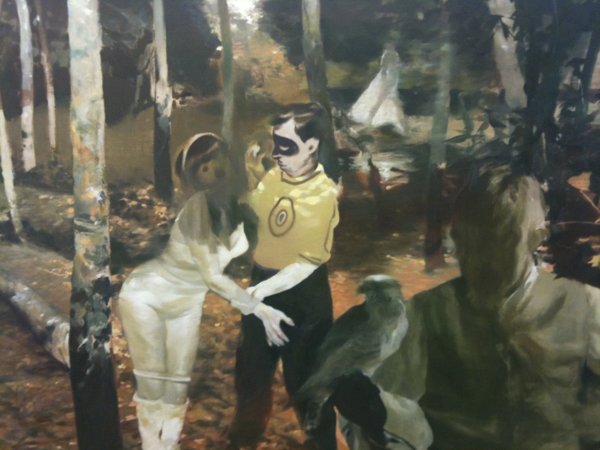 LARS ELLING: SOMETHING IS HAPPENING BUT YOU ARE FORBIDDEN TO LOOK AT IT