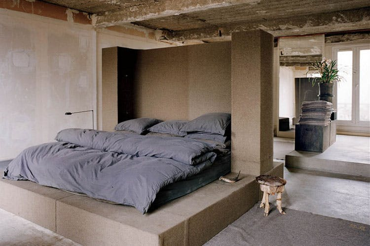 A look inside Rick Owens and Michele Lamy's Parisian house.