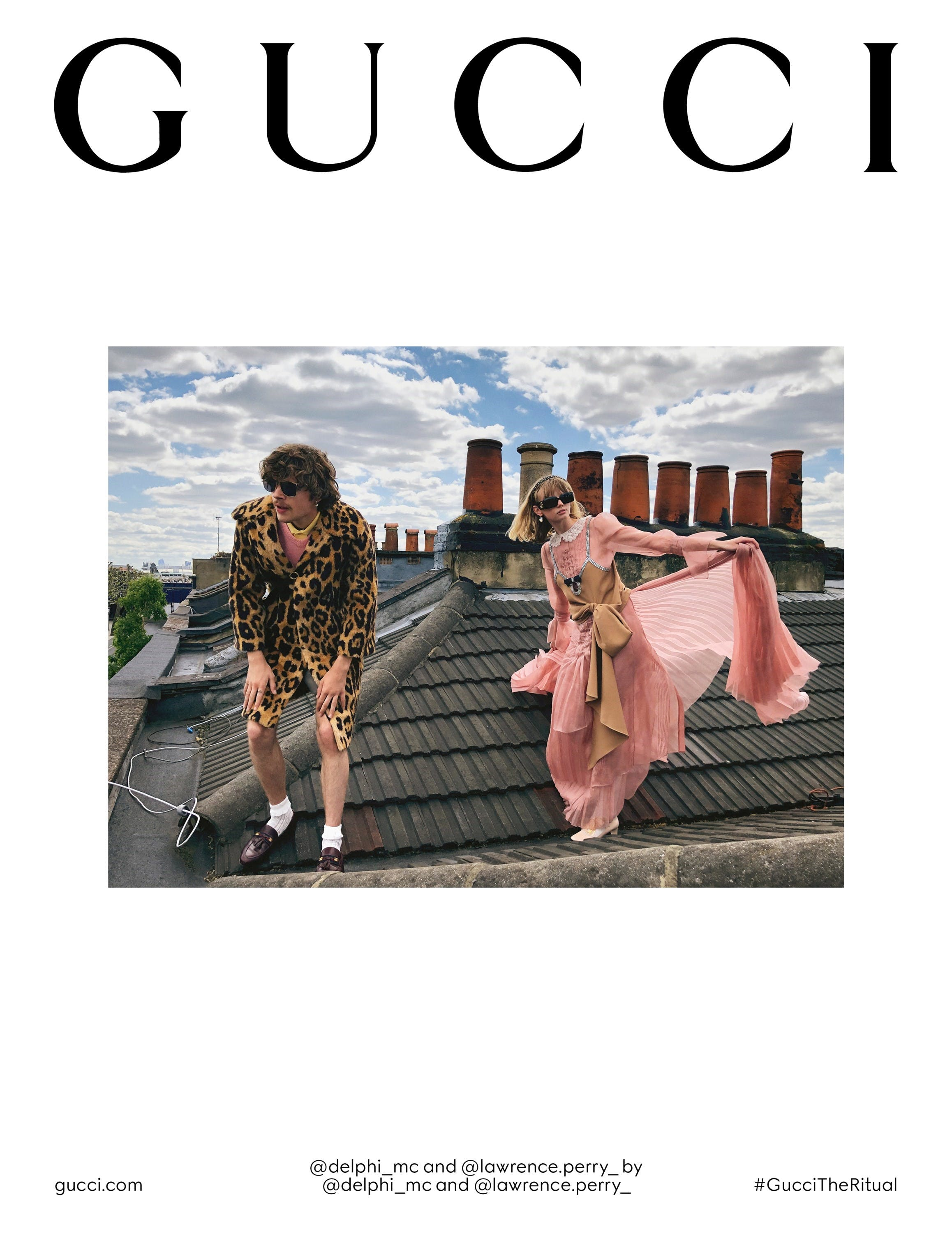 Gucci Fall/Winter 2020 campaign.