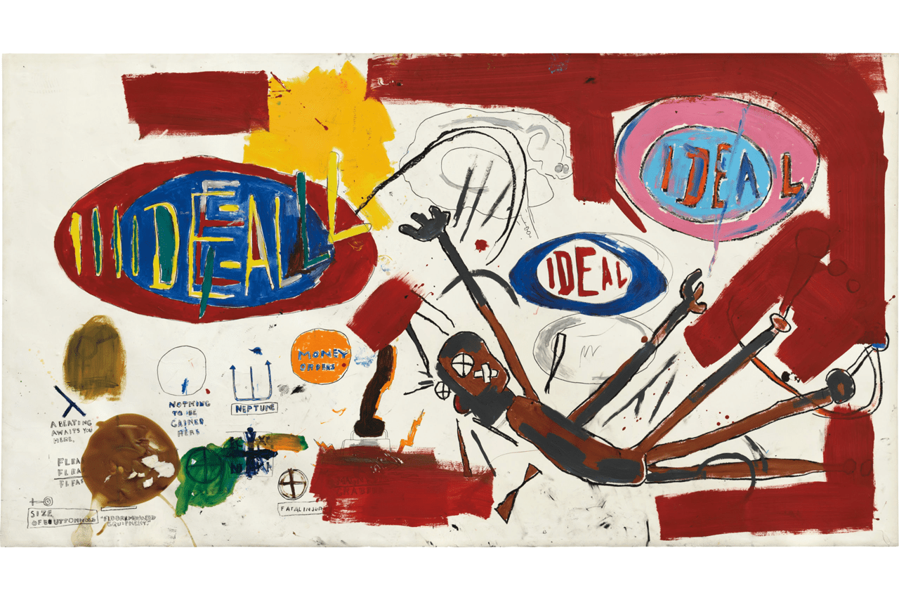 BASQUIAT'S VICTOR PAINTING EXPECTED TO FETCH OVER $10,000,000 IN PHILLIPS AUCTION