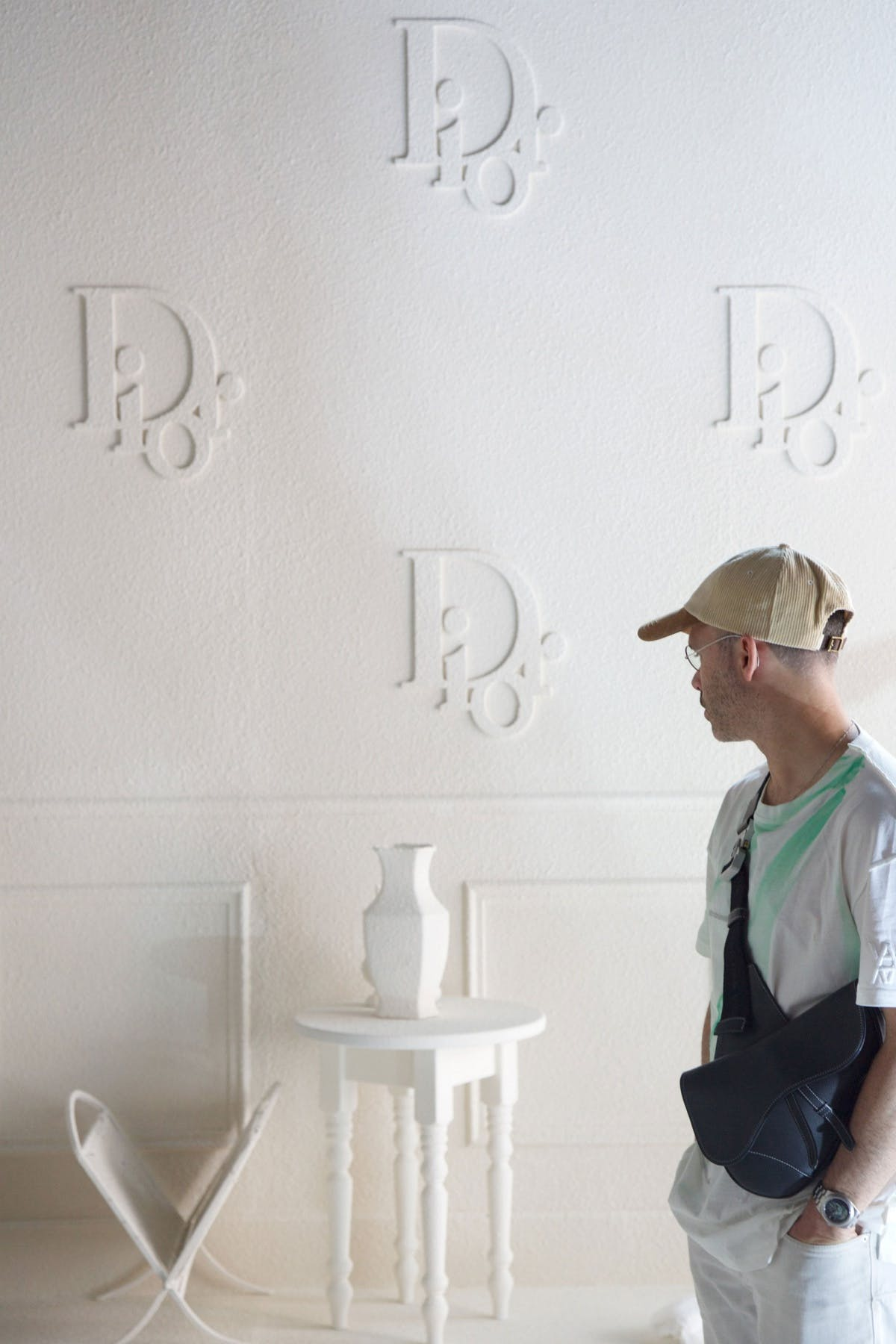 "Daniel Arsham Gives Dior the ""Future Relics"" Treatment."