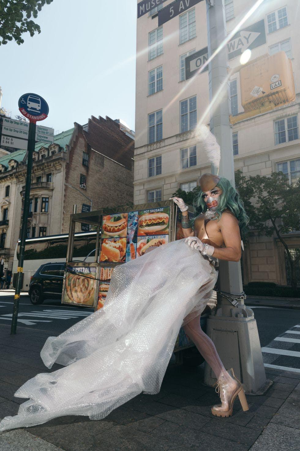 The Drag QuarantQueen Met Gala.