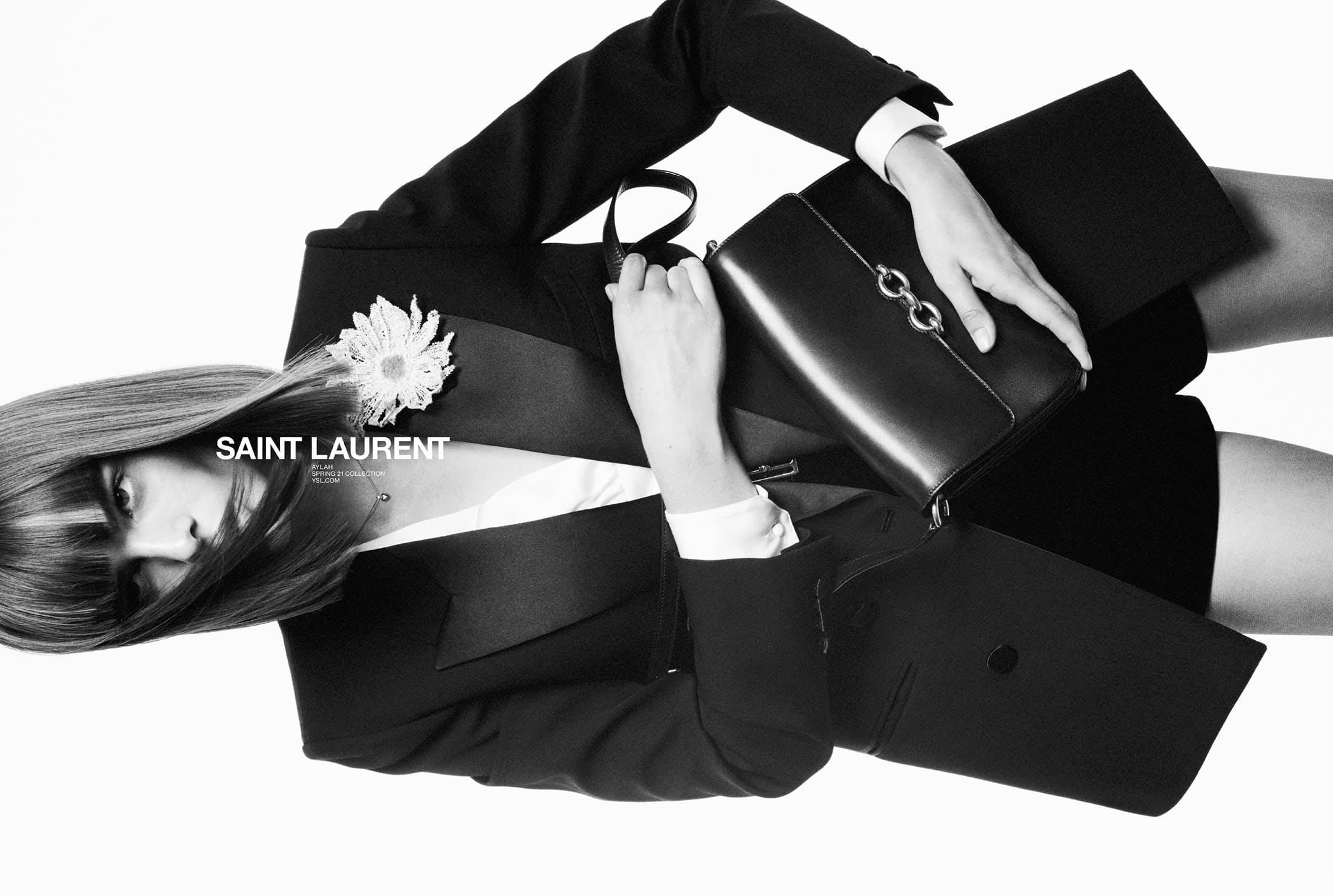 SAINT LAURENT #YSL37 SPRING 2021 AD CAMPAIGN