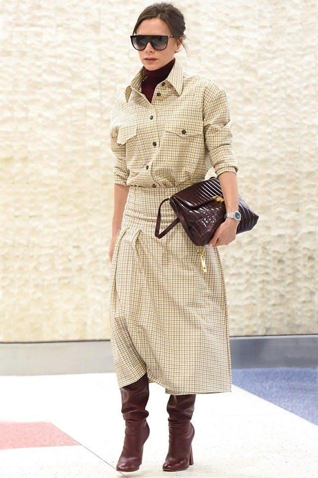 Victoria Beckham wearing a turtleneck