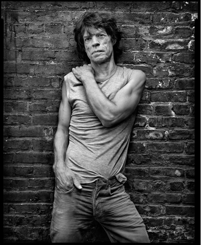 Mick Jagger by Mark Seliger.