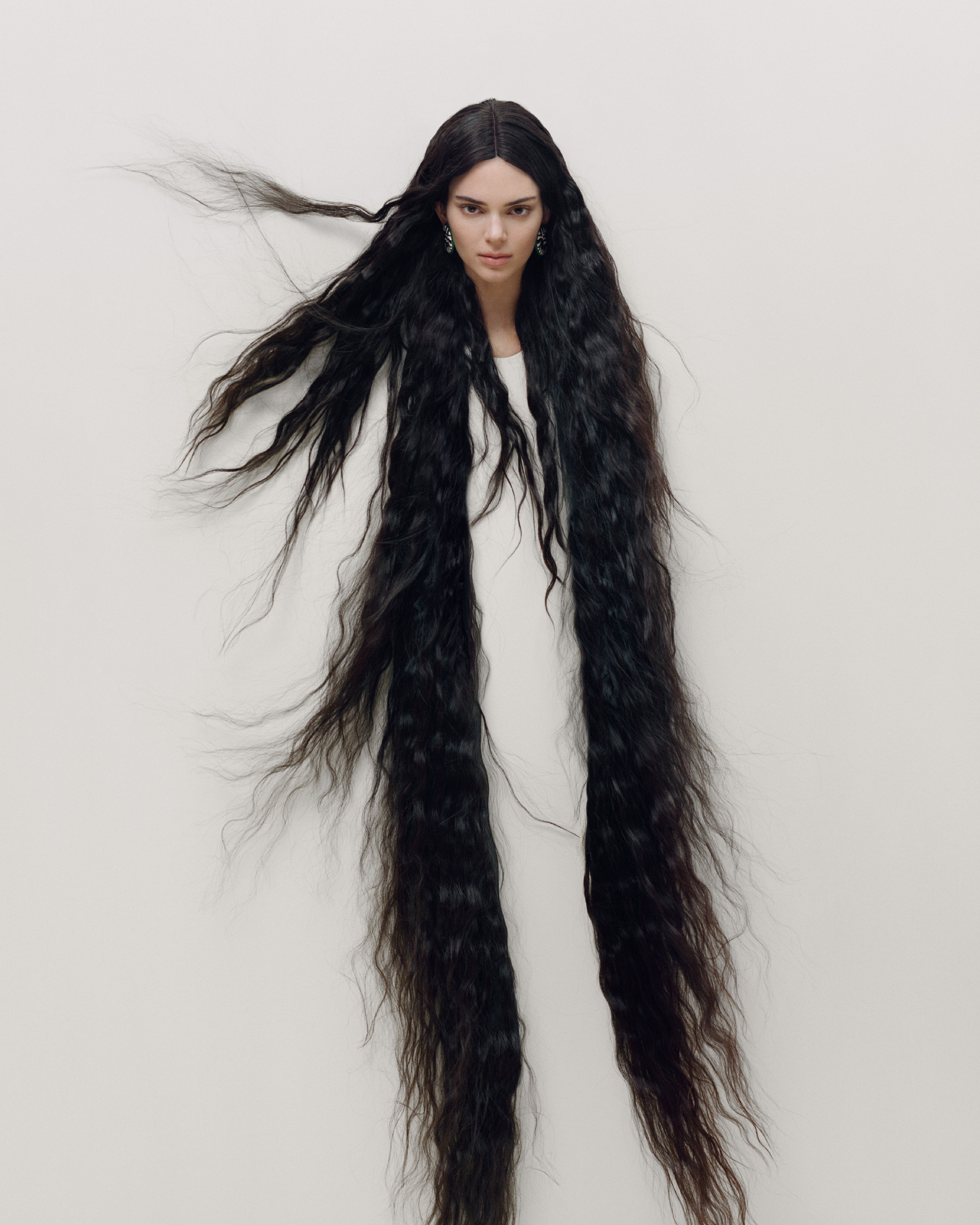 Kendall Jenner By Maurizio Cattelan Photographed by Campbell Addy For Garage Magazine Earings by Catier