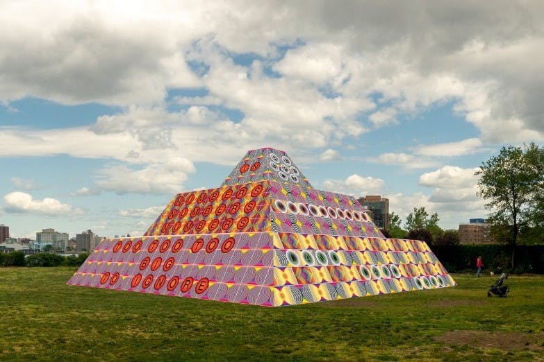 MONUMENTS NOW: OUTDOOR EXHIBITION AT SOCRATES SCULPTURE PARK IN QUEENS