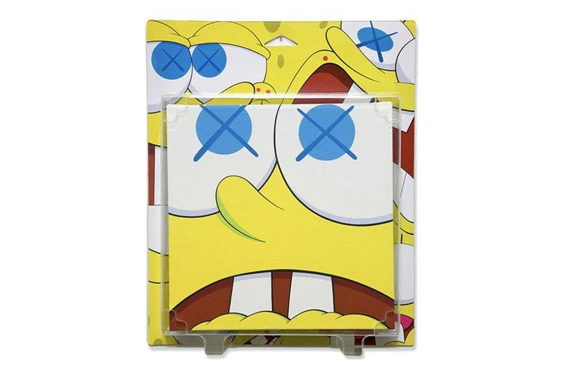 Kaws (B. 1974) Kawsbob (Open Mouth), Package Painting Series