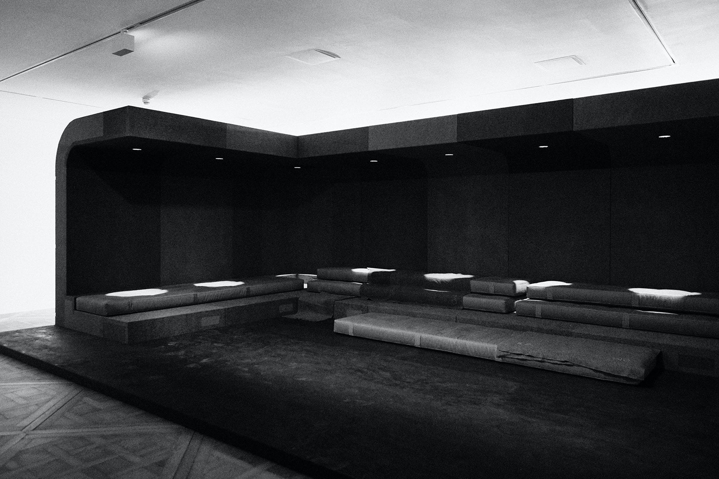 BRUTALIST ARCHITECTURE: RICK OWENS'S MONOLITHIC SOFA SYSTEM