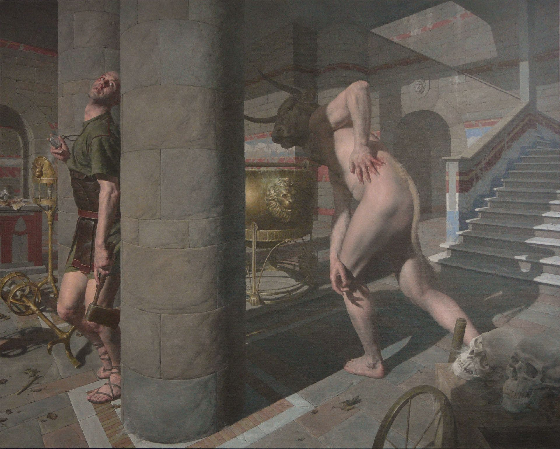 Paul Reid Harkens Back to Rembrandt and Caravaggio