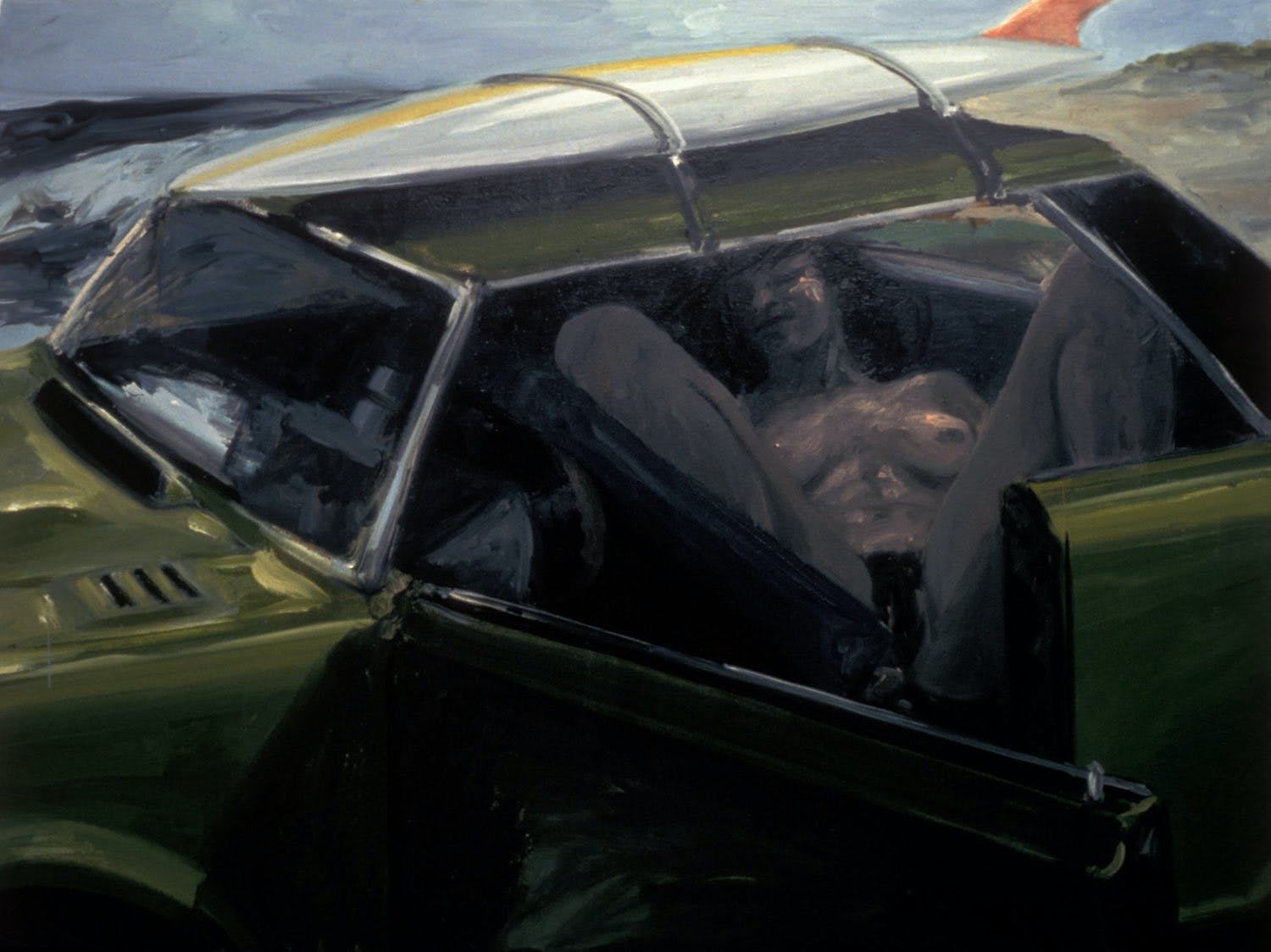 Eric Fischl's Suburban Upbringing with a Backdrop of Alcoholism and a Country Club Culture