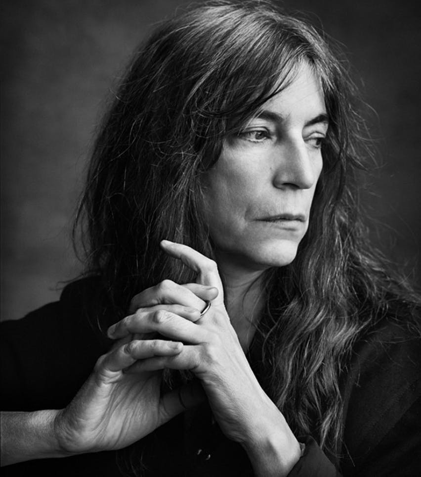 Patti Smith by Mark Seliger.