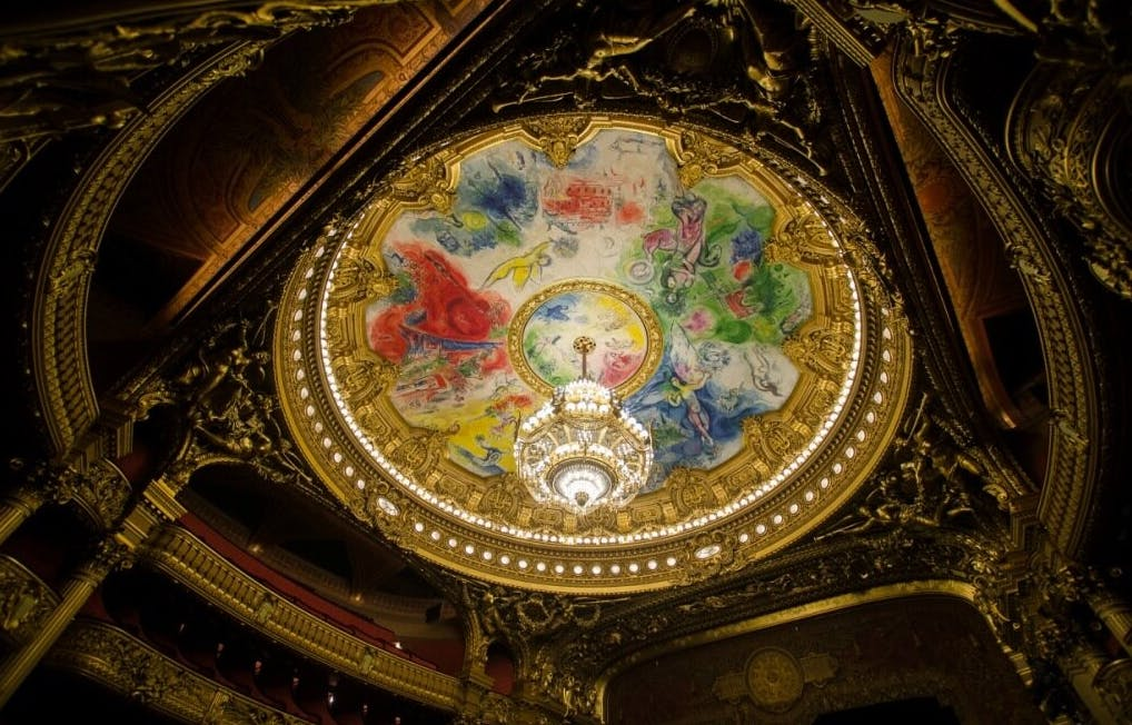 Marc Chagall's Ceiling for the Paris Opéra