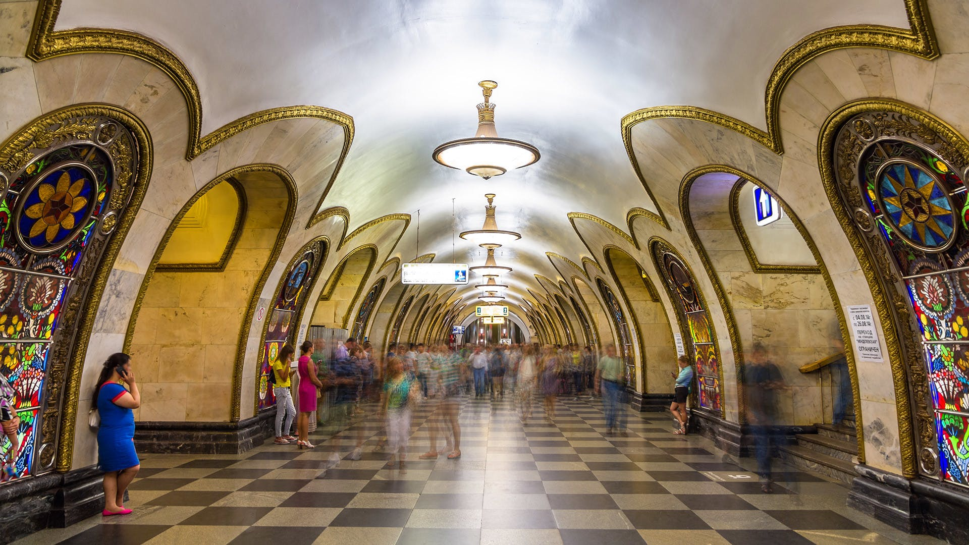 A BRIEF HISTORY OF THE MOSCOW METRO