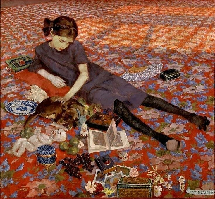 FELICE CASORATI: INTRIGUED BY THE DECADENT ATMOSPHERE OF TURIN WITH ITS SINISTER VIEWS