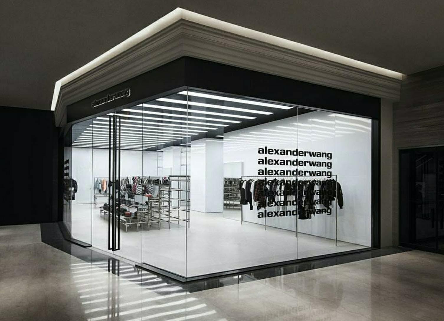 Alexander Wang Pop Up Retail Store